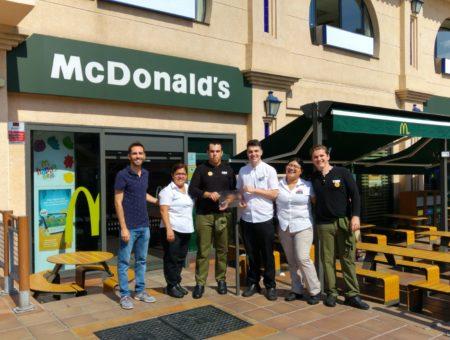 McDonald's San Pedro y Estepona suman empleo inclusivo con Fundatul