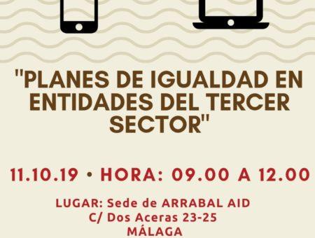 """Encuentro """"Planes de Igualdad en el Tercer Sector"""""""