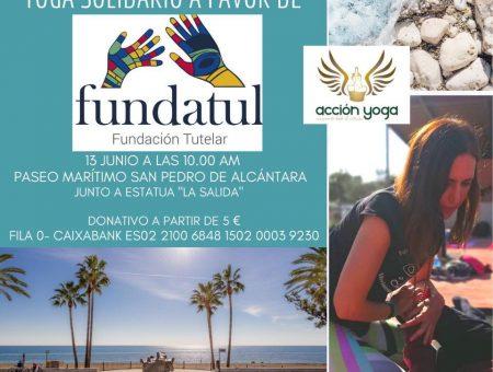 Yoga Solidario en la Playa