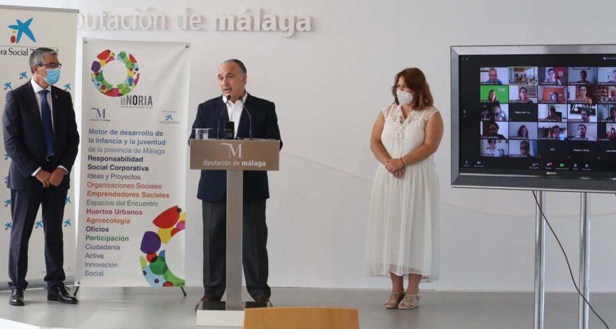 fundatul con los proyectos de inncovacion social Diputacion de Málaga