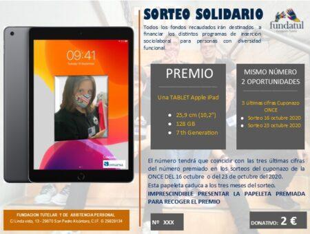 Sorteo Solidario Fundatul Ipad