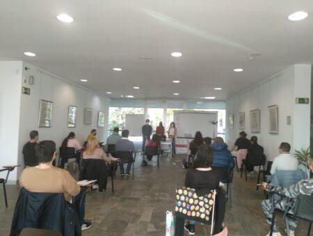"""La Unidad de Orientación Profesional de Algeciras de FUNDATUL, una formación de """"Auxiliar de Supermercado- Dependiente de Comercio"""""""