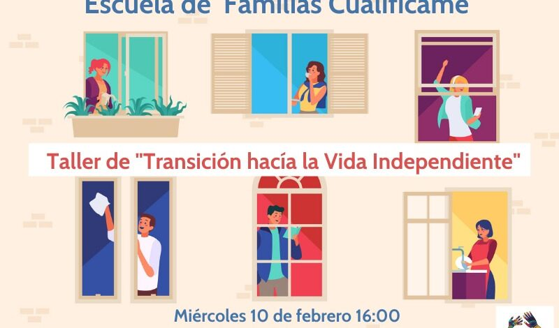 escuela de familias vida independiente FUNDATUL